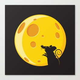Bloodmouse Canvas Print