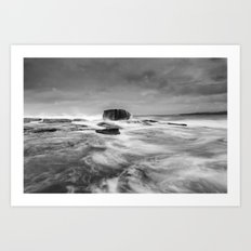 Stormy Seascape Art Print