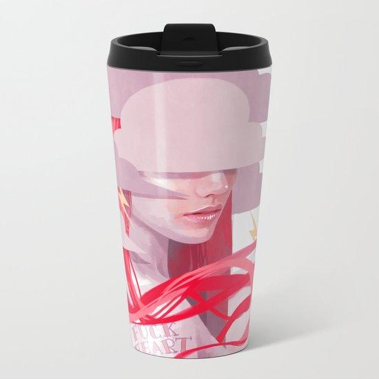 STORM GIRL Metal Travel Mug