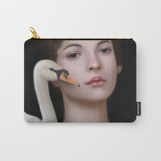 Miss Swan Carry-All Pouch