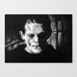 THE MONSTER of FRANKENSTEIN - Boris Karloff Canvas Print