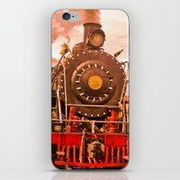 train iPhone & iPod Skins featuring Train by Alejandra Triana Muñoz (Alejandra Sweet