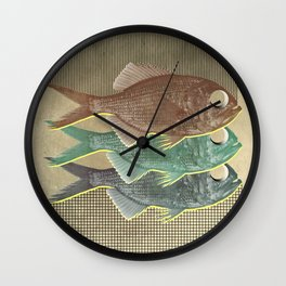 feeling selfish to sell fish Wall Clock
