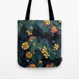 Beautiful flowers over my neighborhood Tote Bag
