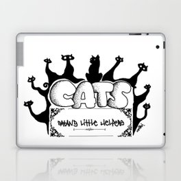 Cats from hell Laptop & iPad Skin