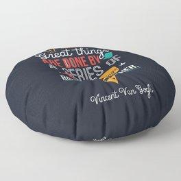 Vincent Van Gogh Floor Pillow