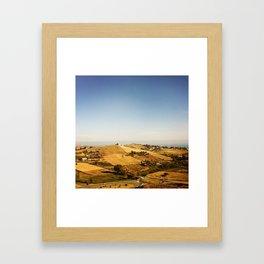 S I C I L Y Framed Art Print
