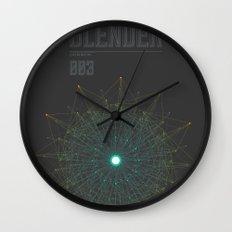 Blender experiment no.3 Wall Clock
