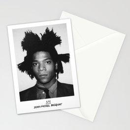 Jean Michel Basquiat Signature Portrait Stationery Cards