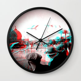Vintage Nice In 3D 1930 Wall Clock
