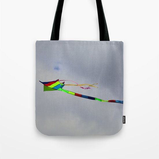 Controlled Flight - Kite 7484 Tote Bag