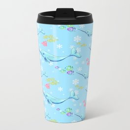Narwhal and Friends Metal Travel Mug