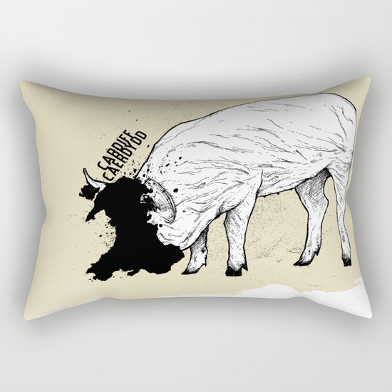 Locals Only - Cardiff, Wales Rectangular Pillow