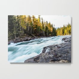 Bailey's Chute - Clearwater, BC - Canada Metal Print