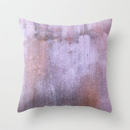 Distressed 6 Throw Pillow