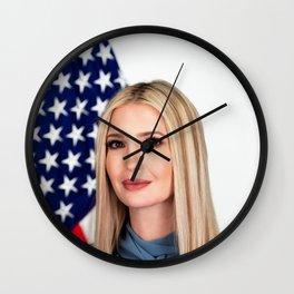 Ivanka Trump Official Portrait Wall Clock