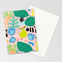 Abstract Orchard Stationery Cards