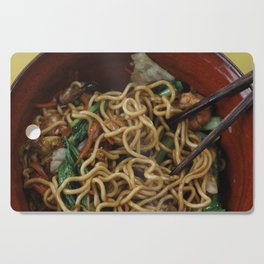Asia Noodles Cutting Board