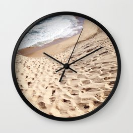 African Dune Beach Wall Clock