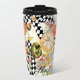 Thankful Wreath Travel Mug
