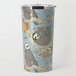 Sloths and Vanilla Travel Mug