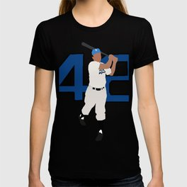 Jackie Robinson Minimalism Art T-shirt