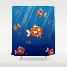 Magikarp Shower Curtain