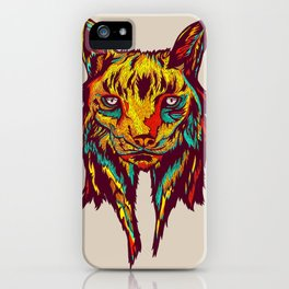 BE RARE* - Iberic Lince iPhone Case