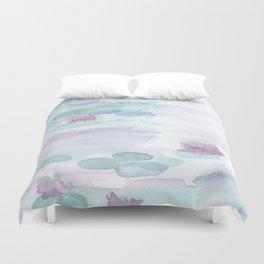 Monet Lily pads Duvet Cover