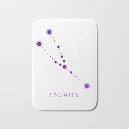 TAURUS STAR CONSTELLATION ZODIAC SIGN Bath Mat