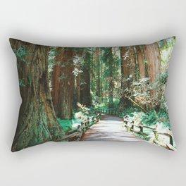 The Redwoods Rectangular Pillow