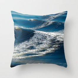 BEAUTIFUL WAVES2 Throw Pillow