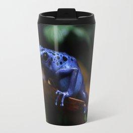 Blue Poison Dart Frog Azureus Travel Mug