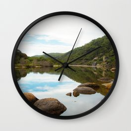 Tidal River Wilsons Promontory National Park Wall Clock