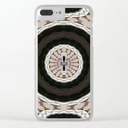 Wart Eye Pattern 4 Clear iPhone Case