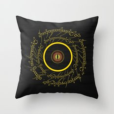 Lord Of The Ring - Sauron Eye Throw Pillow