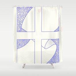 Unvergesslich Shower Curtain