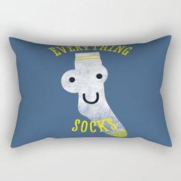 Everythings Socks Rectangular Pillow