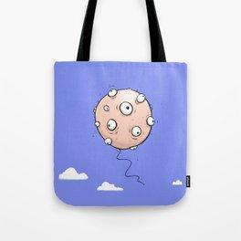 Eyeball Balloon Tote Bag