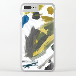 Think Big Watercolor Clear iPhone Case