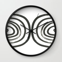 Round About Wall Clock