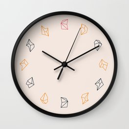little fragments Wall Clock