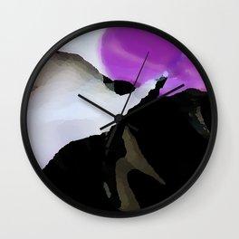 Digital Abstraction 014 Wall Clock