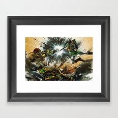 The Battlefield Framed Art Print