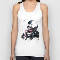venom Tank Tops featuring Venom  by Liam Shaw Illustration