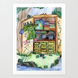 Magic Closet Art Print