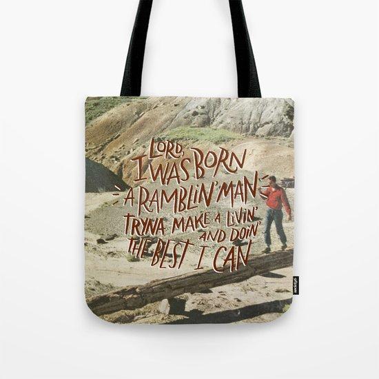 Ramblin' Man Tote Bag