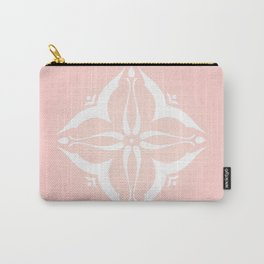 Rose Tile Carry-All Pouch