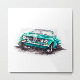 Alfa Romeo Junior Metal Print