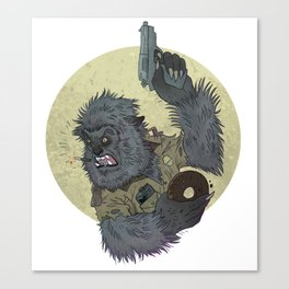 Wolfcop Canvas Print